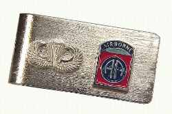 82nd Airborne money clip