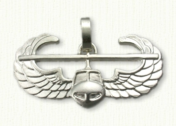 Custom Air Assualt Badge Pendant