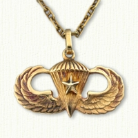 Airborne Wings Pendant